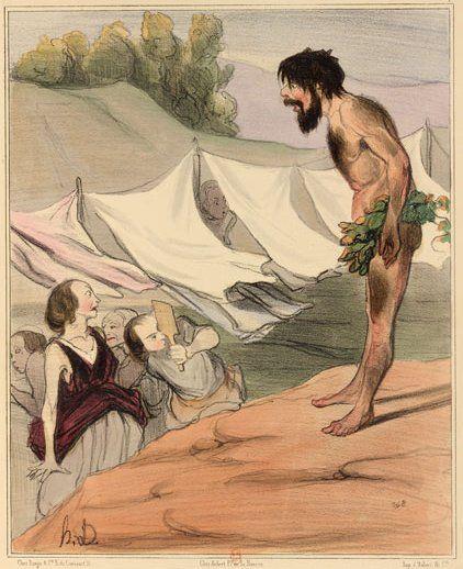 Nausica and Ulysses, Honore Damieur
