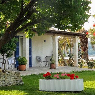 Corfu studio for 2 at Psaras Bay